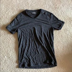 Dark gray express tee